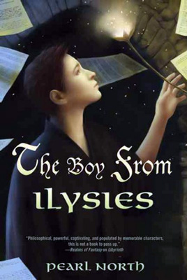 Jacket art for The Boy from Ilysies